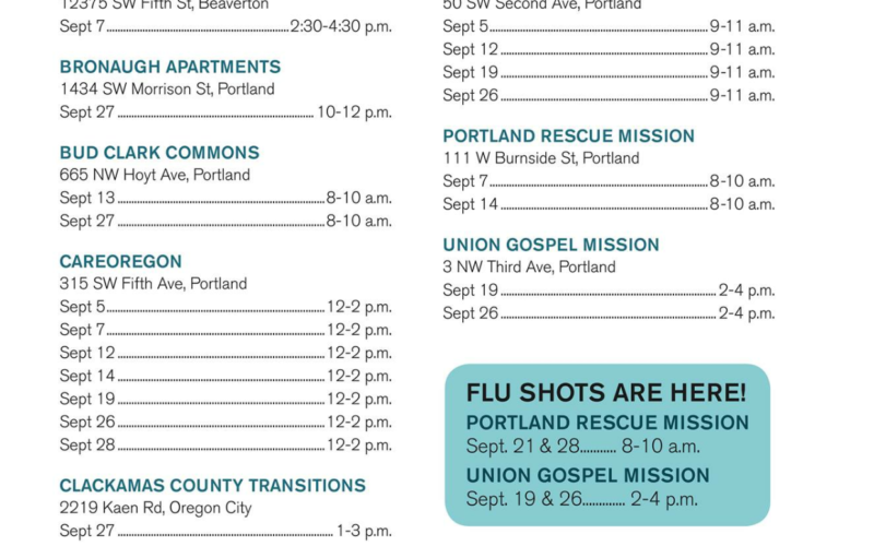 careoregon gomobile enrollment events
