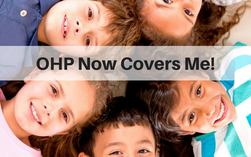 OHP NOW COVERS ME!