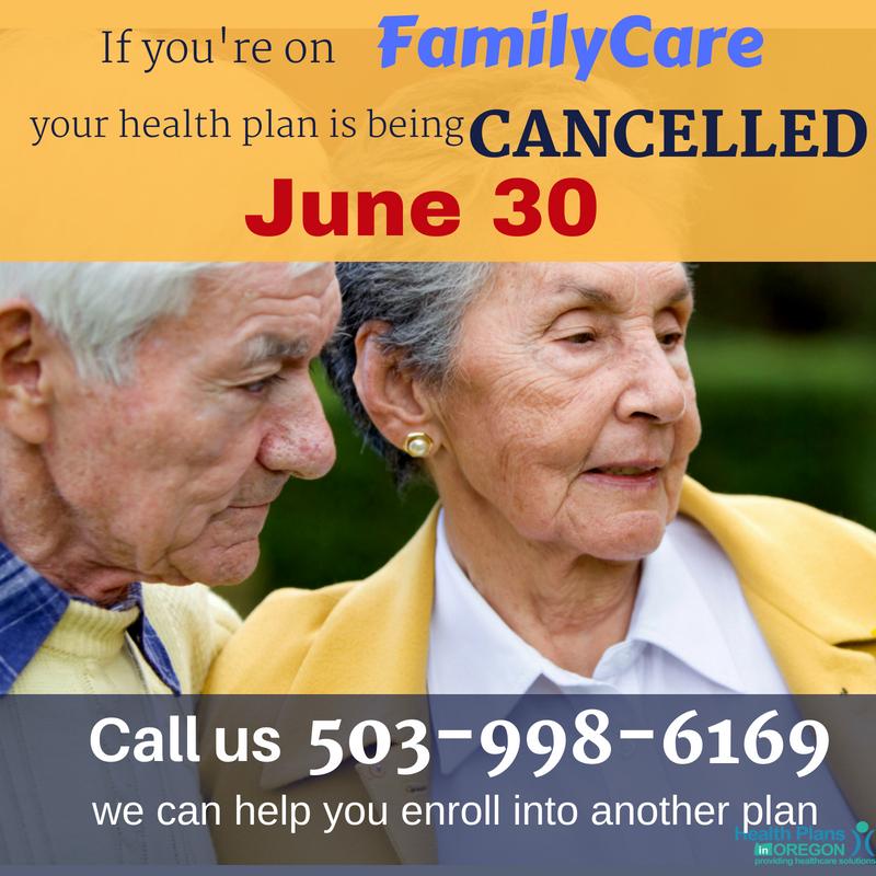 familycare medicare shuts down