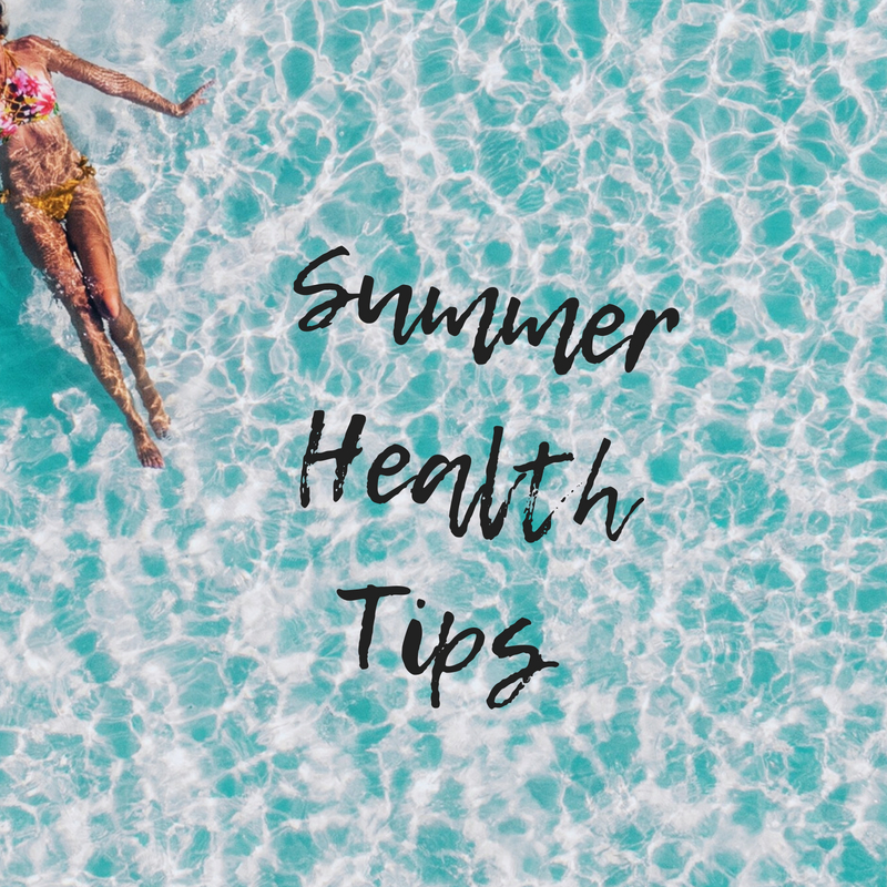 Summer Health Tips