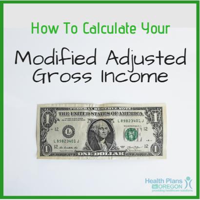 modified adjusted gross income oregon