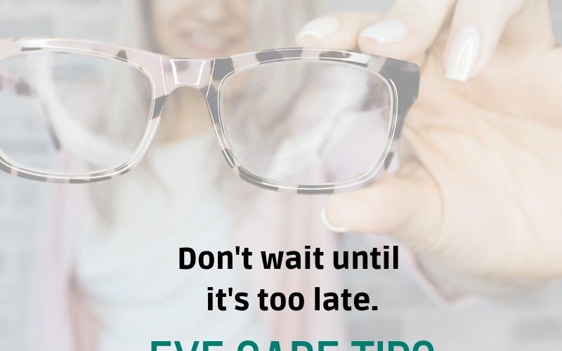 eye care tips oregon